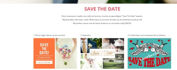 Save the date print